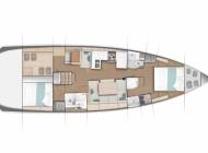 Sun Odyssey 490 - 2 cabin BD_d