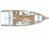 Sun Odyssey 440 - 3 cabin BD_d
