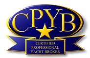 Certified professional yacht broker logo